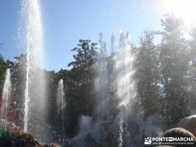 Pesquerías Reales y Fuentes de La Granja;escapadas comunidad de madrid excursiones gredos